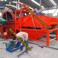 河南轮式洗沙机配备多大功率电机 轮式洗沙机常见维修问题