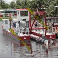 18寸阿根廷挖泥船每小时泥沙产量 金盟阿根廷挖泥船河道清淤(图片)