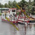 陕西渭南河道清理船是如何疏浚的 金盟机械专业生产河道清理船