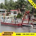 湖北绞吸抽沙船 襄樊简易型绞吸抽沙船水库绞沙现场图