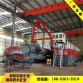 广东挖泥船 12寸绞吸式挖泥船环保清淤现场