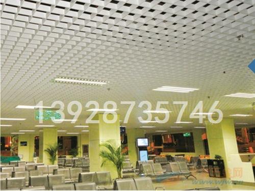 商场三角铝格栅六角铝格栅天花吊顶厂供应品牌厂家