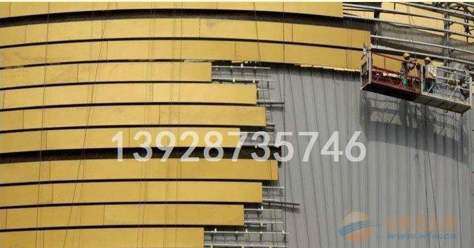 高雄市外墙造型铝单板 弧形铝单板 铝单板外墙名片