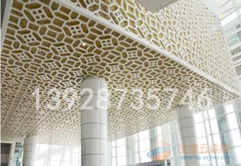 杭州万达广场外墙雕刻雕花铝单板 外墙艺术特色铝单板