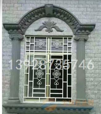 酒店接待大堂铝窗花 雕刻镂空铝窗花 窗花制造之乡