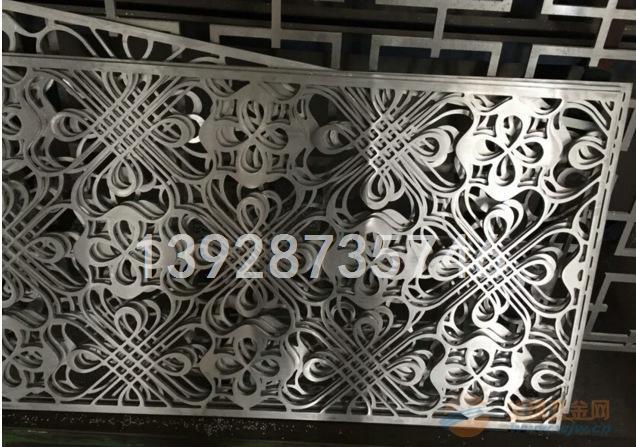 福建安溪雕刻铝窗花木纹镂空铝窗花厂直销