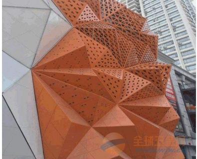外墙双曲铝单板造型铝单板厂供应
