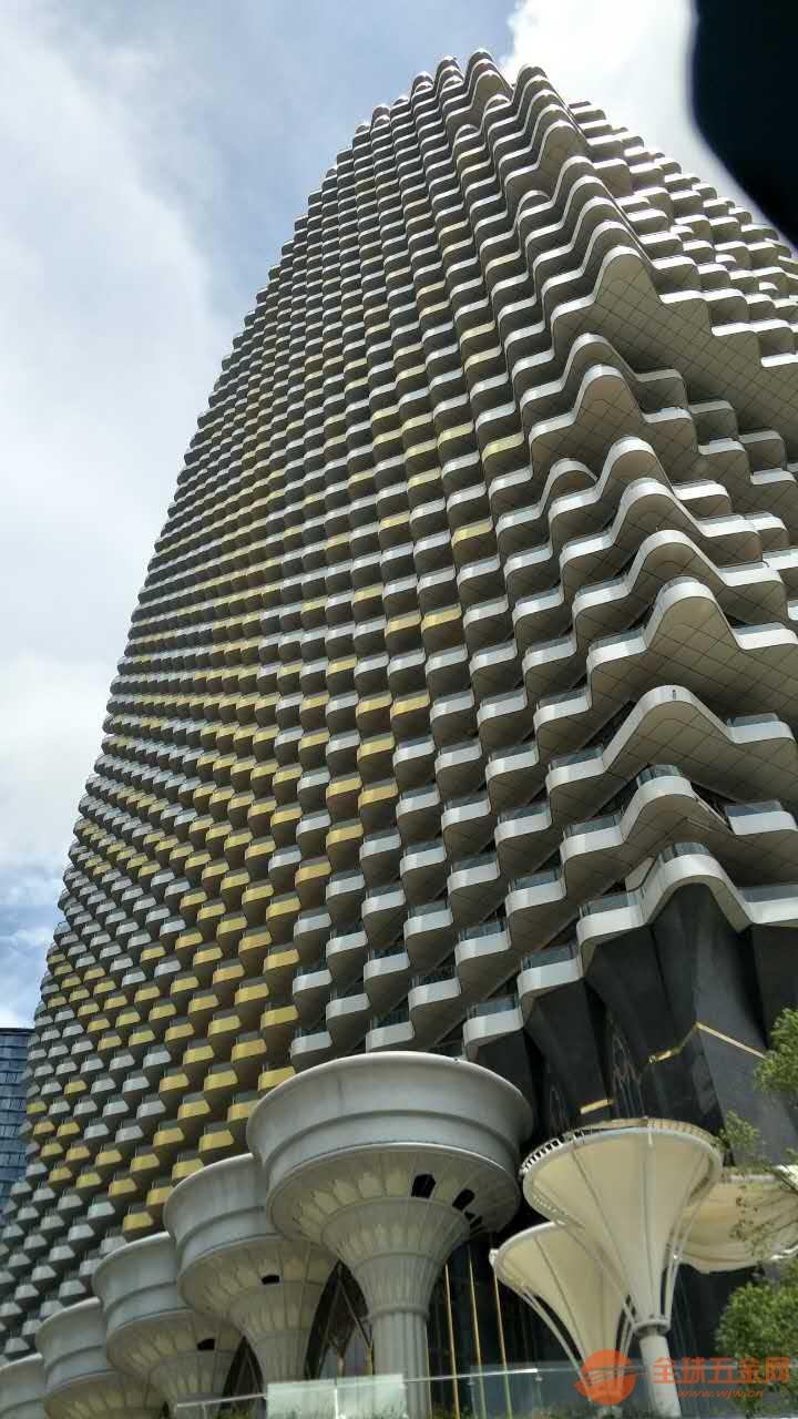 大连广场外墙铝单板 穿孔铝单板 雕刻铝单板