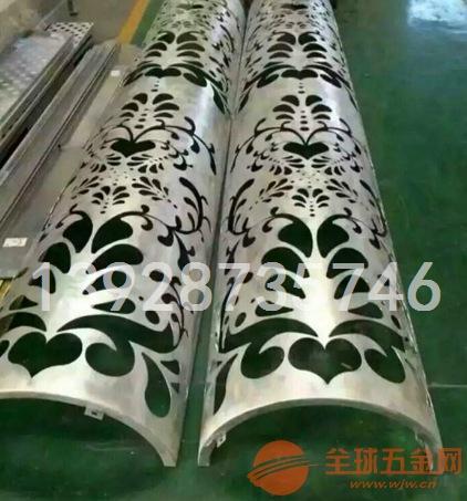 义乌商品城雕刻雕花包柱铝单板 铝单板国际窗口