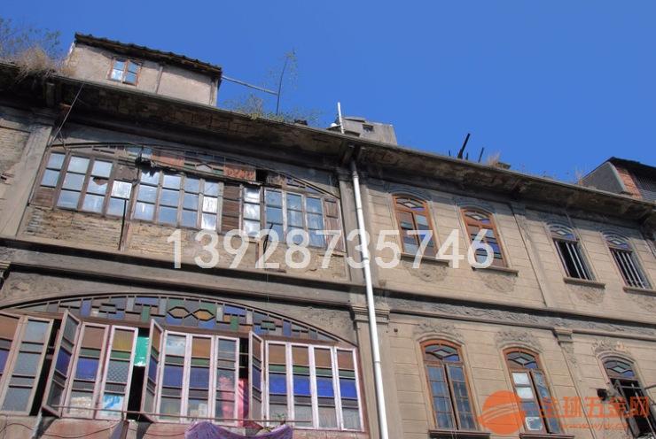 海口小骑楼南洋风格 铝窗花 仿古铝窗 异国风步行街厂定制