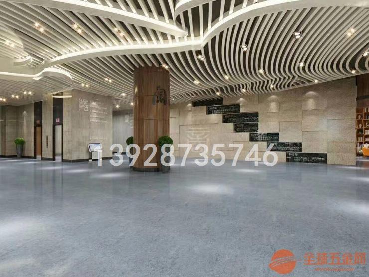 北京酒店铝方通吊顶 木纹铝方通 造型铝方通吊顶