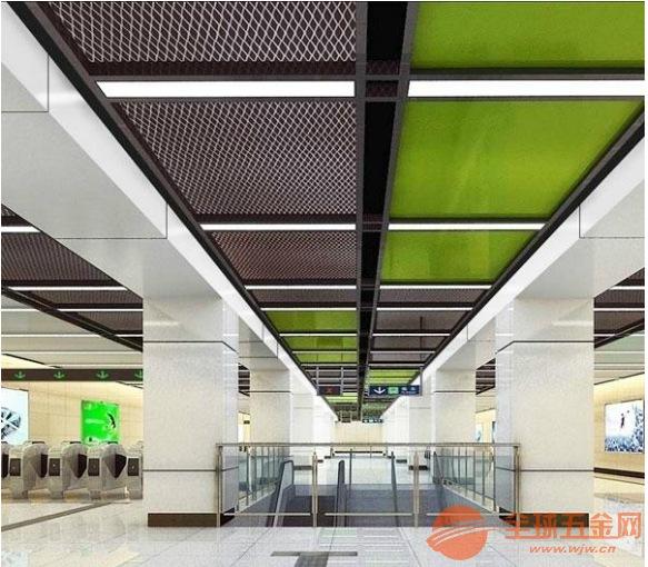 超市铝网板吊顶 铝拉网板 网板吊顶领航产品