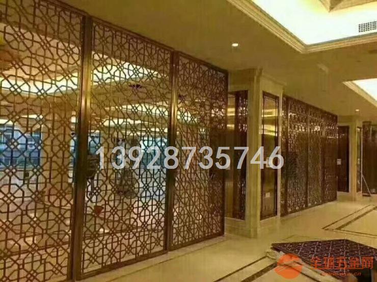 客厅铝屏风隔断 雕刻镂空铝屏风 艺术风格铝屏风
