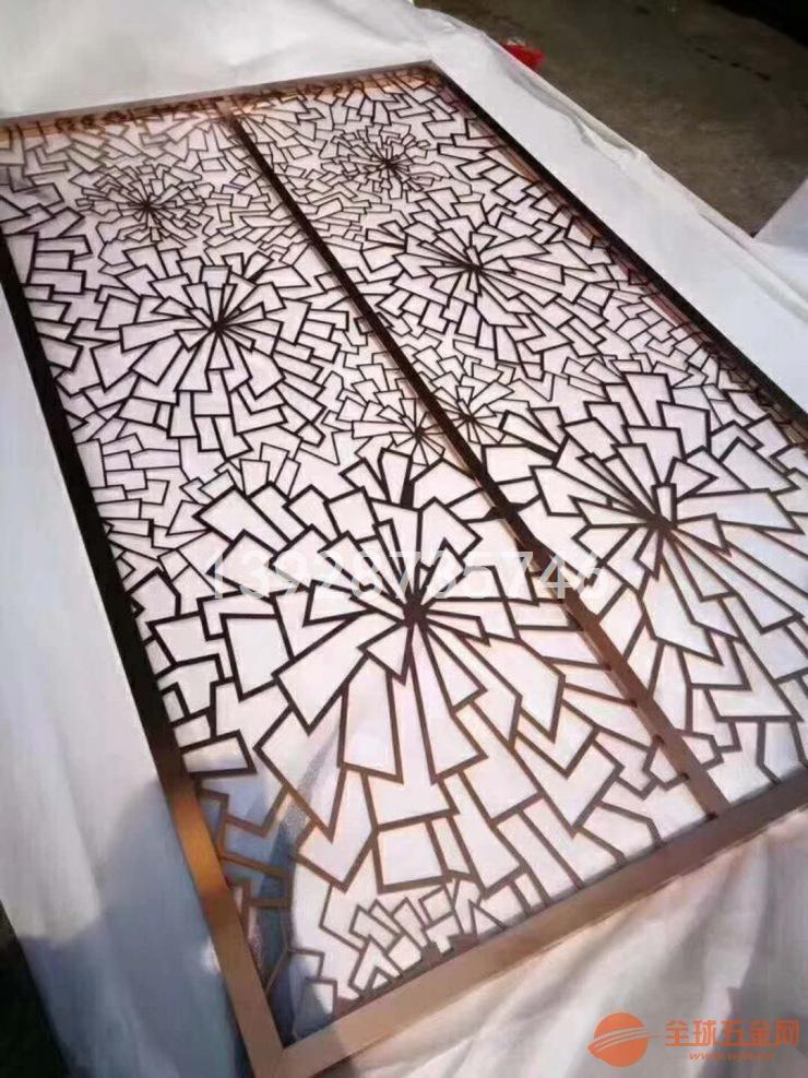 玫瑰金铝窗花 铝合金窗花 格式铝窗花厂家