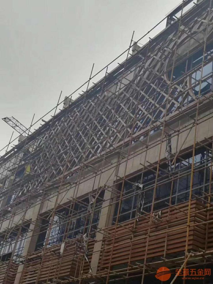 广场外墙铝方管 木纹铝方管 外墙墙面铝方管