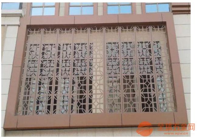 博物馆铝窗花 雕刻镂空铝窗花 精品铝窗花