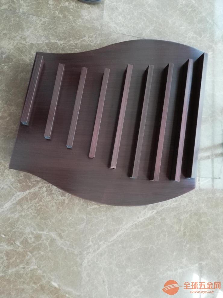 拉丝电镀古铜色造型铝单板 焊接琴形铝单板 拉丝铝单板厂家