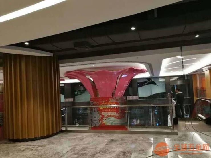 烟台酒店造型铝单板吊顶 弧形铝单板 花瓣形铝单板吊顶