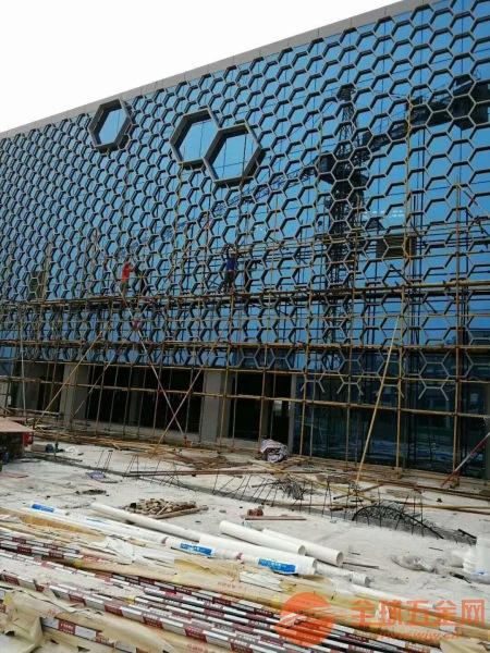 深圳金融中心铝单板 镂空铝单板 雕刻铝单板