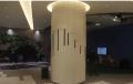 超市弧形包柱铝单板 镂空雕刻包柱铝单板