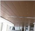 商业大楼S型条形铝条扣天花吊顶防风条扣厂供应