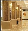 酒店雕刻包柱铝单板 镂空雕刻铝单板 弧形包柱铝单板