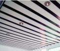 公共卫生间C型条形铝条扣天花吊顶防风条扣厂供应