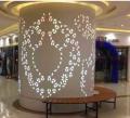 商场雕刻雕花铝单板包柱 镂空铝单板包柱立体蓝图