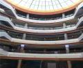 商场走廊包边弧形铝单板 双曲线铝单板展示图
