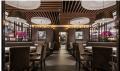 自助餐铝方通吊顶 木纹铝方通 餐厅特色吊顶