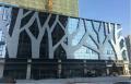 门头树形雕刻铝单板 造型雕刻铝单板 门头铝单板