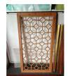 写字楼铝合金花格窗花 格式铝合金窗花 中式铝窗花