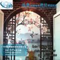 滁州市木纹铝窗花