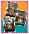 十大殿阎王|彩绘十大殿阎王|贴金十大殿阎王