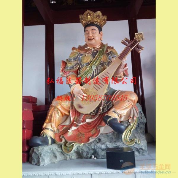 龙岩寺庙玻璃钢,木雕,铜铸四大天王