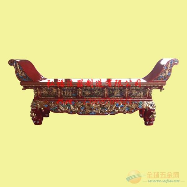 厂家批发供桌 香樟木寺院供桌 道教元宝桌 寺庙樟木供