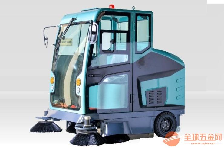 小区车库保洁手推洗地机 座驾洗地车 工厂扫地机