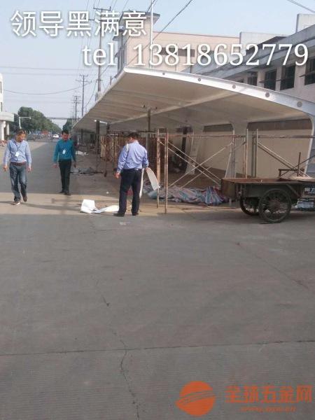 永康市膜结构车棚,上海停车棚