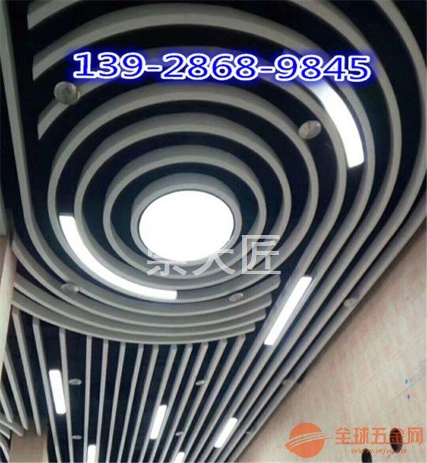 上海铝挂片装饰 弧形铝挂片供应商