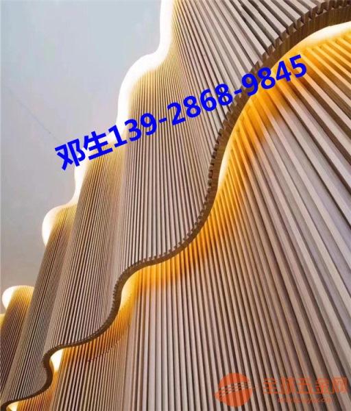 江西铝方通 造型铝方通窗花 铝方通百叶厂家