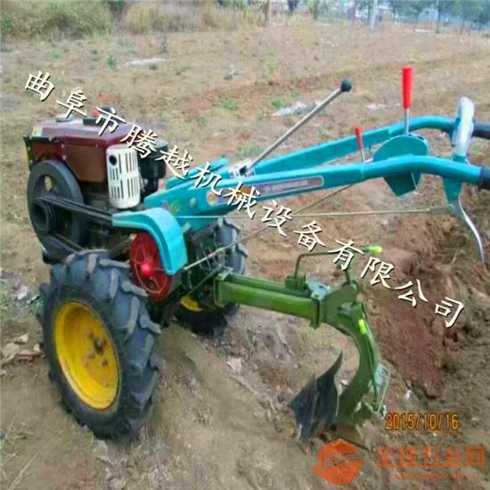农用手扶拖拉机耕地机 手扶拖拉机用旋耕机 农业6马力水冷微耕机
