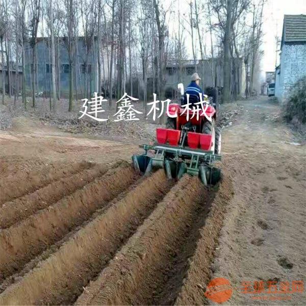 新款起垄机地瓜打梗机红薯种植机