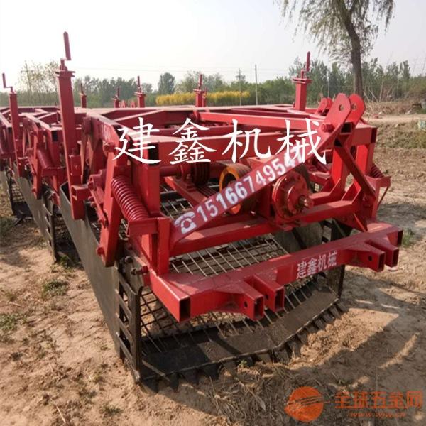 新疆黄芪芦根收获机挖药机厂家