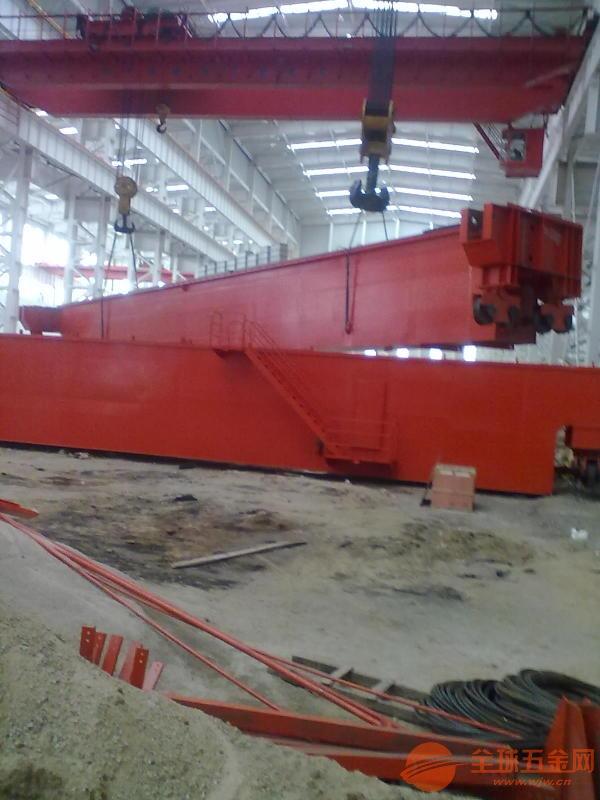 工程龙门吊20吨双梁航车处理