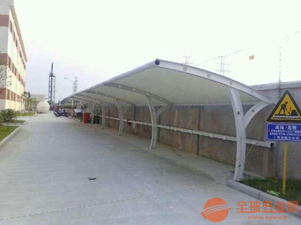 湘西州心悦车棚安装膜结构停车棚