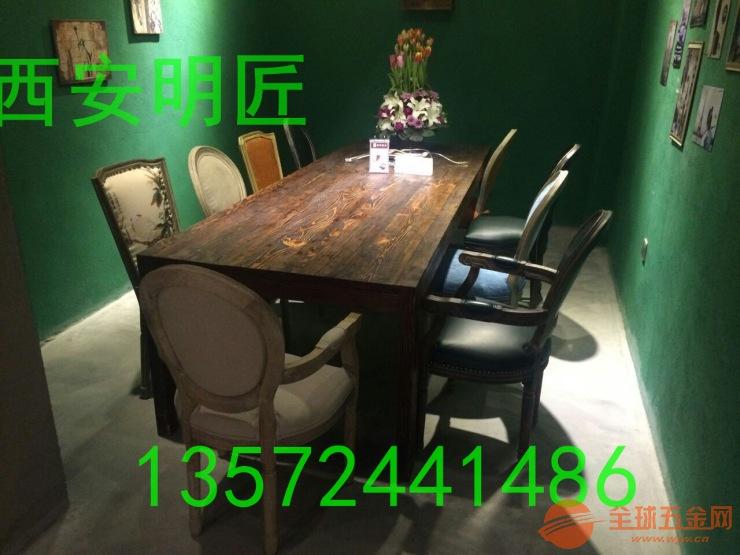 快餐店桌椅奶酒店茶店桌椅定制厂家