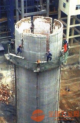 耒阳混凝土烟囱拆除