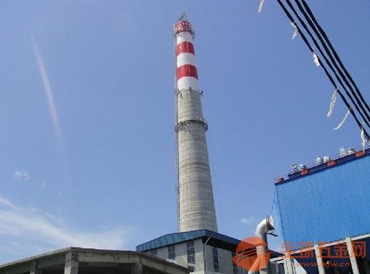 邢台50-80米砖烟囱美化公司报价透明
