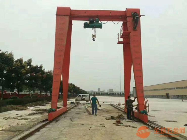 三明沙县二手门式起重机K二手架桥机轨道道轨旧的买卖