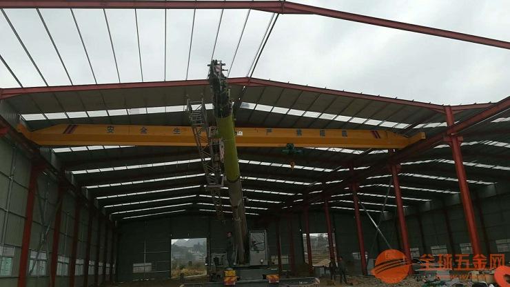 牡丹江西安二手钢轨Y二手门式桥式起重机二手回收